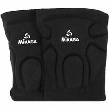Mikasa Competition Volleyball Knee Pads - Black / Adult Size - 830