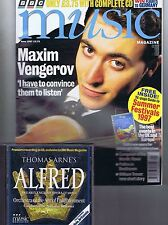MAXIM VENGEROV / WILLIAM TREVOR BBC Music + CD Jun 1997