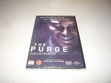 THE PURGE : DVD BRAND NEW AND SEALED FREE UK POSTAGE COST'S