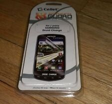 Cellet Screen Guard scratch resistance For Para Samsung Droid Charge smartphone