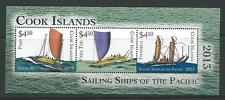COOK ISLANDS 2013 SAILING SHIPS M/SHEET MNH