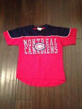 Montreal Canadiens NEW Youth Medium Neutral Zone T-Shirt . NHL Hockey Reebok NWT