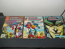 transformers g1 comics lot of three