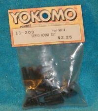 Rare VINTAGE TEAM YOKOMO RC MR-4 SERVO MOUNT SET ZS-203