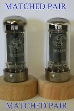5B-255M CV391 STC LOGO AND GOVERNMENT PRINT MATCHED PAIR NOS VALVE TUBE
