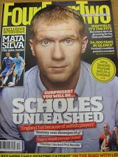 01/12/2011 FourFourTwo Football Magazine: Number 210 - Paul Scholes On Cover. Fo