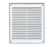 Bocchetta ventilazione rettangolare in plastica Edilplas mm 204x230 griglia aria