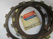 NOS Yamaha Clutch Friction Plate DT400 MX250 DT250 TY250 YR2 RT2     SOLD AS 5