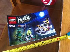 Lego Instruction Manual Monster Fighters Merman Lair 9461 Offcial