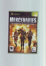 MERCENARIES PLAYGROUND OF DESTRUCTION 1- MICROSOFT XBOX GAME / 360 COMPATIBLE NM