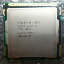 Intel SLBLK Core i5-650 3.20GHz 4M 2.5GT/s 1st Gen Socket 1156 Dual Processor