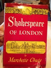 Shakespeare Of London Marchette Chute Well Researched Biography