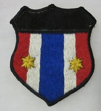 ORIGINAL VIETNAM WAR Vintage THAI Made THAILAND SHIELD PATCH with 2 STARS