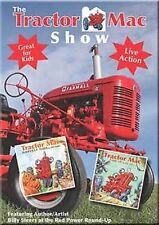 Tractor Mac Show DVD NEW Great for Kids! Farmall tractors Case IH stories music