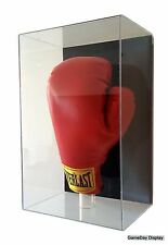 Acrylic Boxing Glove Display Case Wall Mount UV Protectant Full Size C NIB