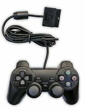 PS2 Wired Game Pad Controller Joypad Joystick Playstation 2 Two w/ Dual Rumble