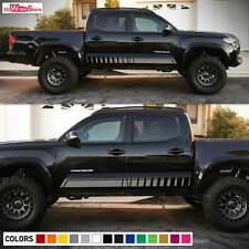 Decal Vinyl Graphic Side Stripe Kit for Toyota Tacoma Offroad Rocker Panel Light