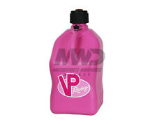 VP Racing Pink 5 Gallon Square Fuel Jug/Utility Water Container/Jerry Gas Can