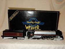WEAVER BRASS O SCALE CANADIAN PACIFIC ROYAL HUDSON 4-6-4 #BCR 2860 3 RAIL NEW!--