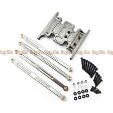 Alloy Skid Plate & Linkage Set Grey for Axial SCX10 Dingo & Honcho [LT10201gu]