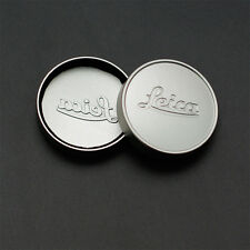 Silver L39 E39 39mm Metal Lens Cap for Leica Summicron Summaron Tinra 35/2 M50/2