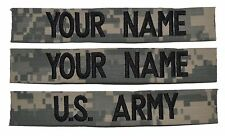 CUSTOM 3 Piece ACU Name Tape Set SEWON - U.S. Army Military