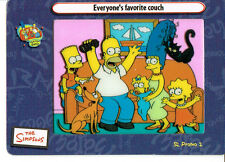 SIMPSONS FILM CARDZ SERIES 2 PROMO CEL CARD P2