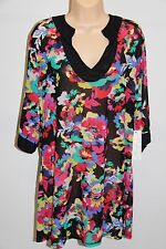 NWT Anne Cole Swimsuit Cover Up Tunic Plus Size 18W/20W Mult