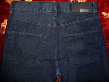 $225 Armani Collezioni Mens Blue Jeans Size 30/34 Authentic Denim Straight Fit