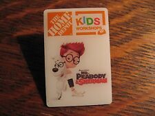 Home Depot Pin - 2014 Mr. Peabody Sherman Dreamworks Animated Movie Lapel Badge