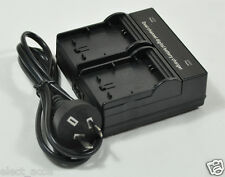 Dual Twin Double Channel AC Charger For Canon LP-E8 600D 700D 650D 550D Battery
