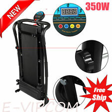 Electric Manual Motorized Treadmill Machine Folding Portable Running Gym Fi