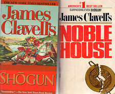 Complete Set Lot of 6 Asian Saga books by James Clavell (Historical) Shogun