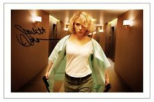 SCARLETT JOHANSSON SIGNED PHOTO PRINT AUTOGRAPH LUCY