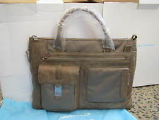 Piquadro Frame Green Ladies Expandable Briefcase/Office bag CA1618FR/VE