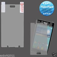 LG Splendor Venice Optimus Showtime L86C Ultra Clear Screen Protector Twin Pack