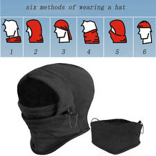 Good Quality fleece winter Hiking Ski Bike Head Wrap Hat hood Winter Warm