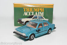 CORGI TOYS 276 TRIUMPH ACCLAIM METALLIC BLUE MINT DEALER PROMO BOXED RARE
