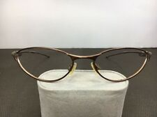 Vintage Oakley Teaspoon Sunglasses Bronze Metal Wire Frames Only H18
