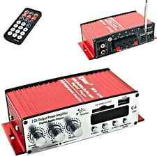 Amplificatore auto,barca.2 canali,12V. Amplifica Watt audio.USB,CD,DVD,MP3 MA120