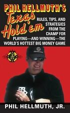 Phil Hellmuth's Texas Hold 'em Poker (Paperback) Rules, Tips, Strategy