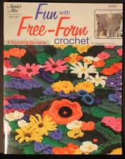 Annie's Attic Fun with Free-form Crochet Patterns Booklet