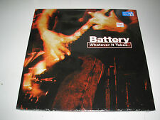 Battery Whatever It Takes LP sealed New Ltd Edition Color Vinyl with Mp3 card