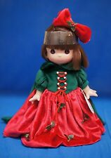 "Snow White Christmas Dreams 9"" Vinyl Doll Disney Precious Moments 3387 Signed"