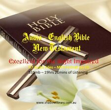 CD - Audio - English Bible New Testament - For the Sight Impaired, Blind