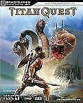 Titan Quest official Strategy Guide (PC Game Books) by Brady games FREE SHIPPING