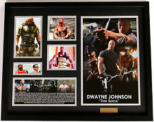 New Dwayne Johnson The Rock Signed Limited Edition Memorabilia
