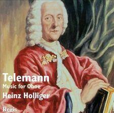 NEW Telemann: Music For Oboe by Christiane Jaccottet Heinz Holliger CD (CD)