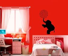 Wall Stickers Vinyl Decal African Elephant Nature Animal Circus Children ig129