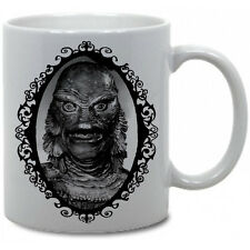 CREATURE FROM THE BLACK LAGOON COFFEE MUG! classic monster Universal Horror Vtg